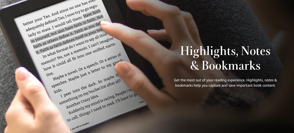Changing Fonts on Amazon Kindle
