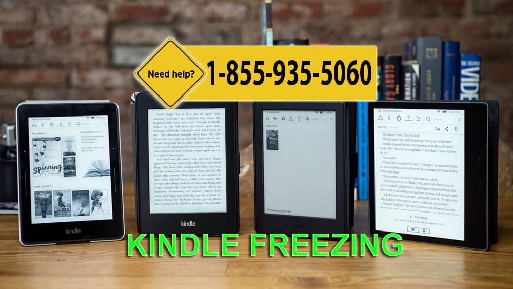 Kindle Frozen Problem