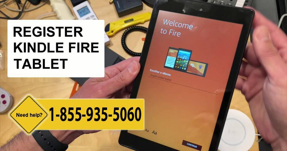 Register Kindle Fire