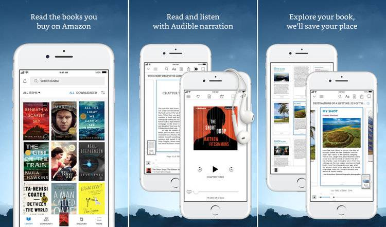 Kindle App for iPad and iPhone