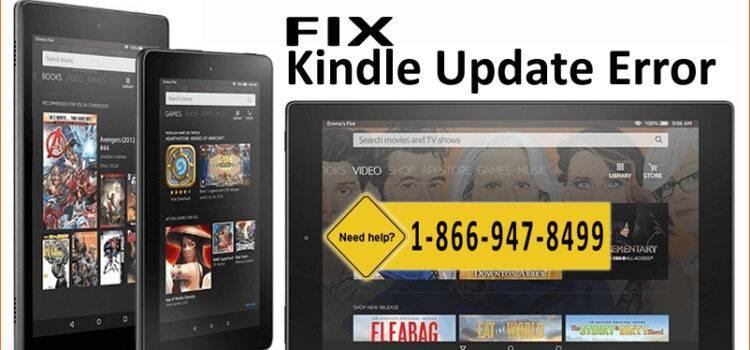 Fix Kindle Update Error