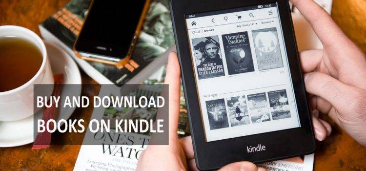 Buy And Download Books From Kindle