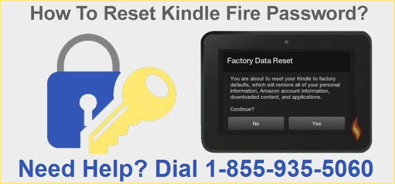 Amazon Kindle Password Reset Without Losing Any Data