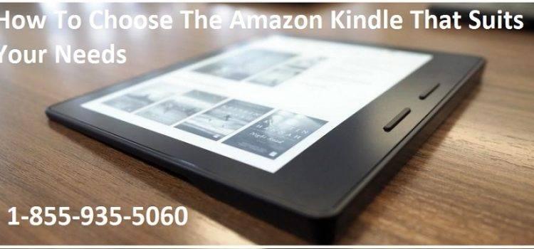 Choose-The-Amazon-Kindle