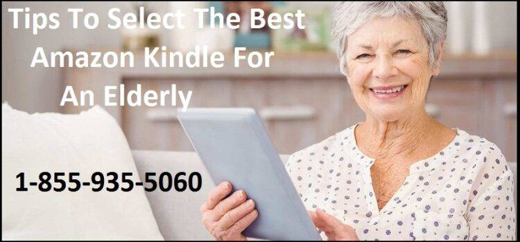 Kindle-For-An-Elderly